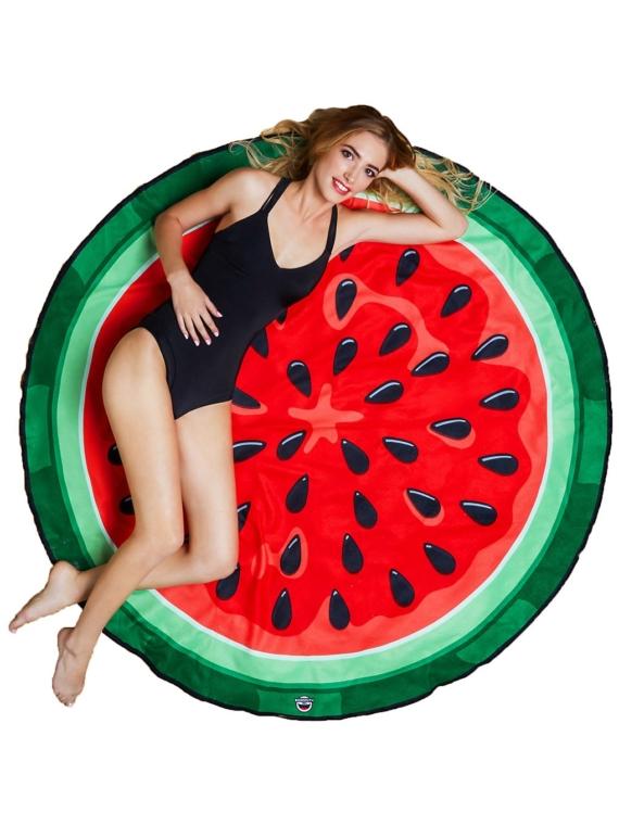 Big Mouth Toys Watermelon Beach Towel patroon