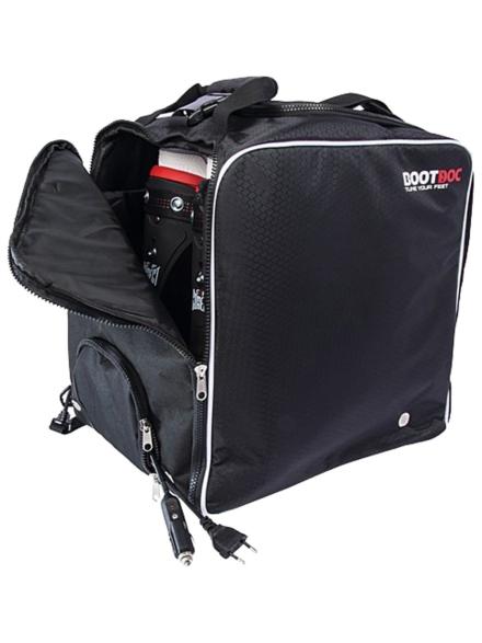 Bootdoc BD Heated Ski Boot tas zwart