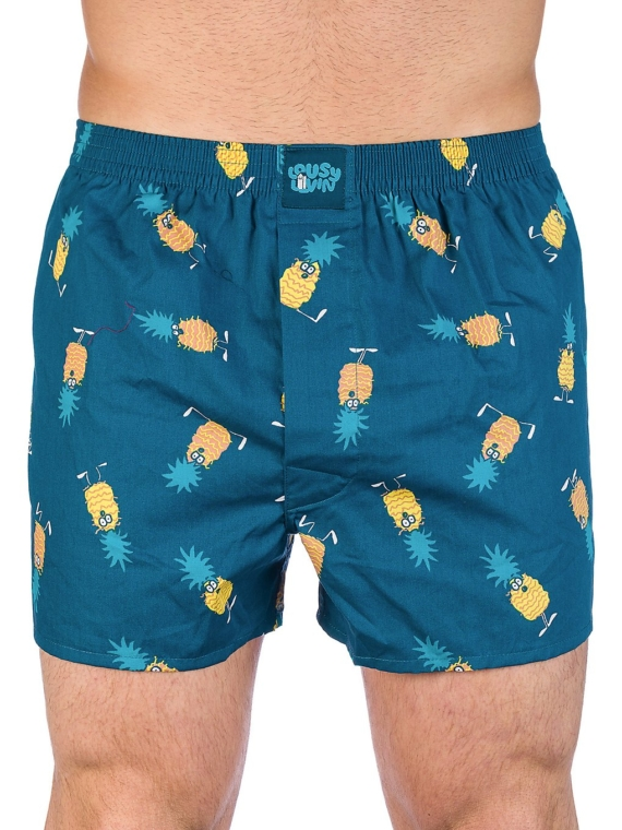 Lousy Livin Ananas Boxershorts blauw