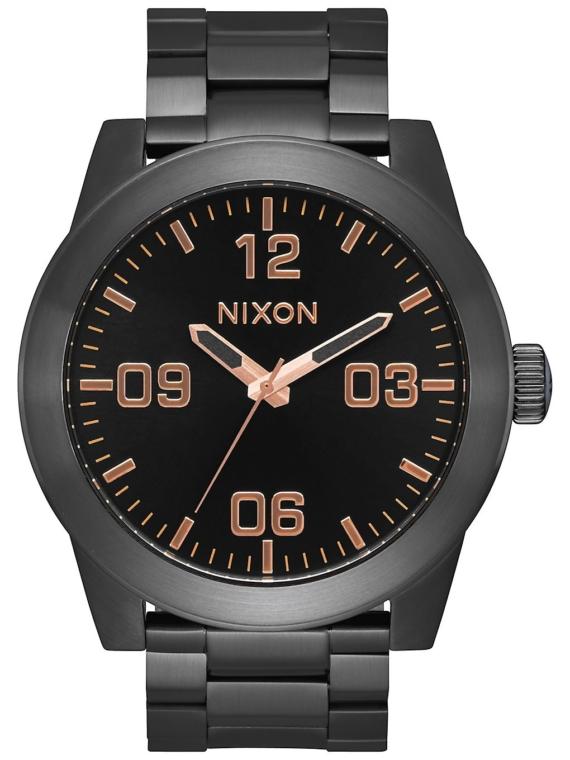 Nixon The Corporal Ss zwart