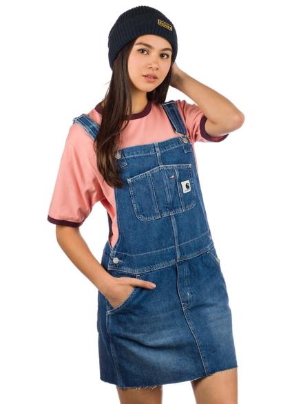 Carhartt WIP Bib Skirt blauw
