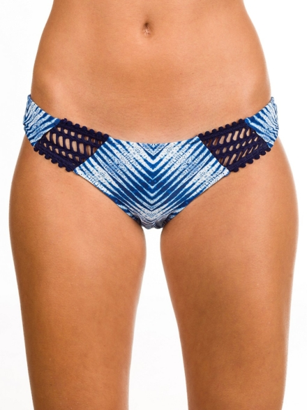 Rip Curl Last Light Luxe Cheeky Bikini Bottom blauw