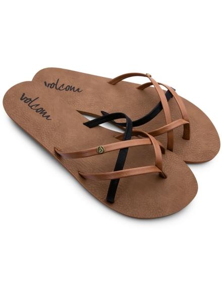 Volcom New School slippers bruin
