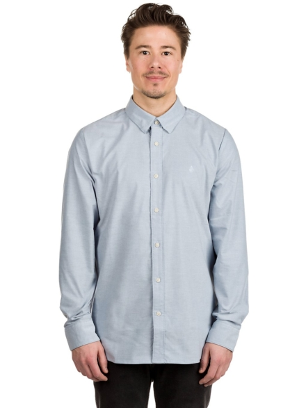 Volcom Oxford Stretch Shirt blauw