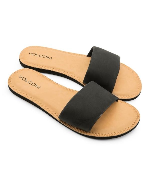 Volcom Simple Slide slippers zwart