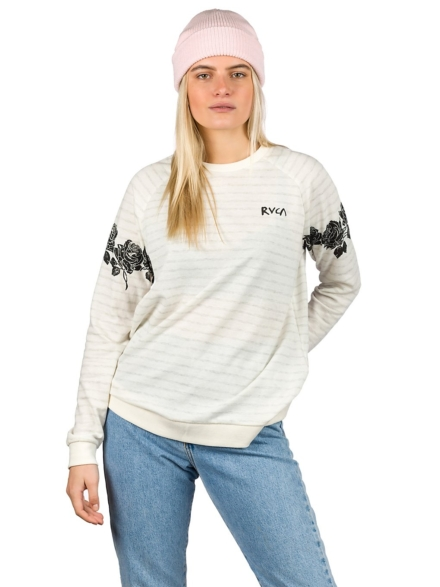 RVCA Oblow Roses Trui wit