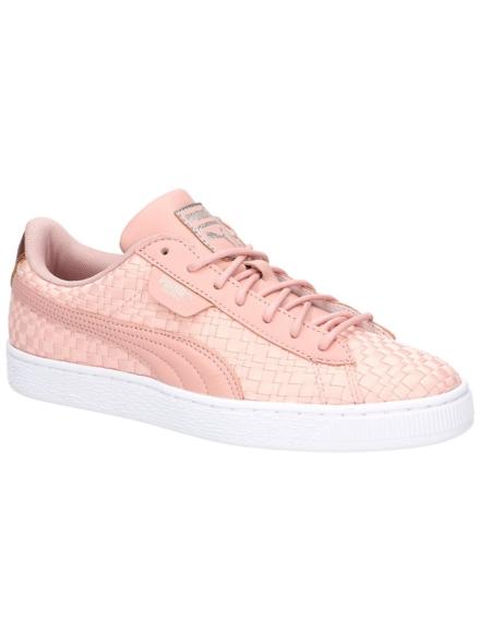 Puma Basket Satin EP Sneakers roze