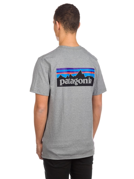 Patagonia P-6 Logo Responsibili T-Shirt grijs