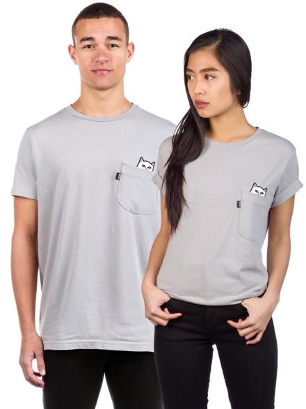 RIPNDIP Lord Nermal Pocket T-Shirt grijs