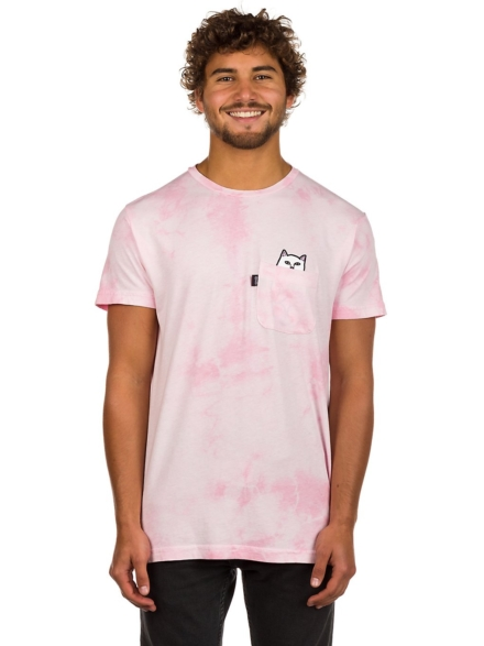 RIPNDIP Lord Nermal Pocket T-Shirt roze
