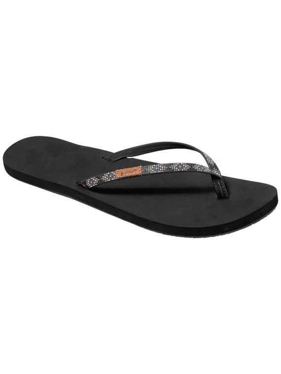 Reef Slim Ginger Beads slippers zwart