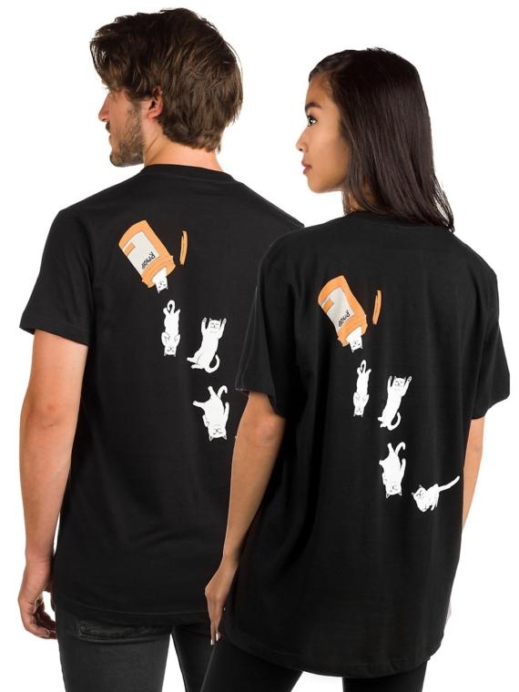 RIPNDIP Nermal Pills T-Shirt zwart