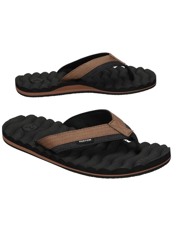 Kustom Hummer III slippers bruin