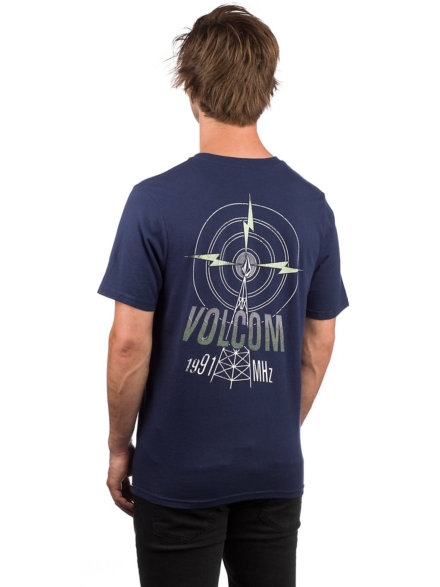 Volcom Rebel Radio T-Shirt blauw