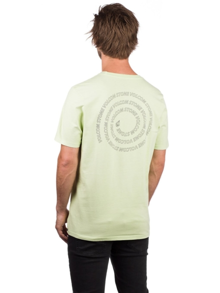 Volcom Spyral T-Shirt geel