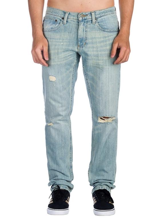Free World Messenger Stretch Westport Jeans blauw