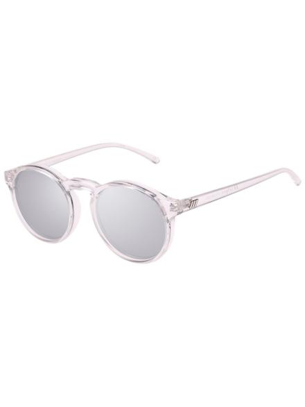 Le Specs Cubanos Xtal Clear grijs