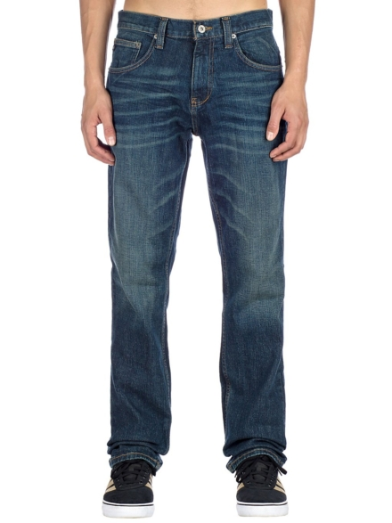 Free World Night Train Stretch Jeans blauw