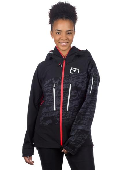 Ortovox 3L Guardian Shell Ski jas zwart
