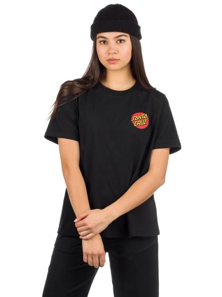 Santa Cruz Classic Dot T-Shirt zwart