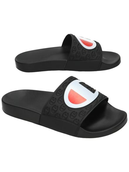 Champion Pool slippers zwart