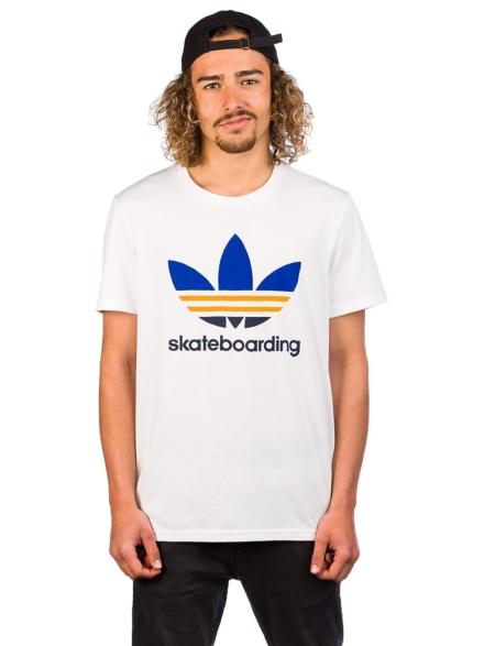 adidas Skateboarding Clima 3.0 T-Shirt wit