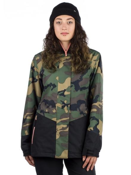 Aperture petjeitol Ski jas camouflage