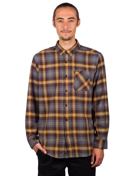 Volcom Caden Plaid Shirt bruin