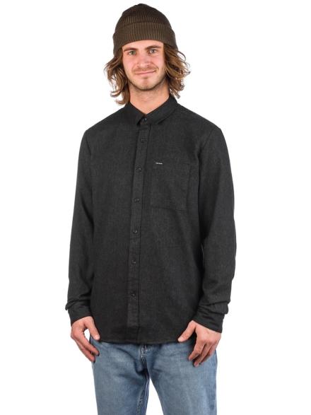 Volcom Caden Solid Shirt zwart