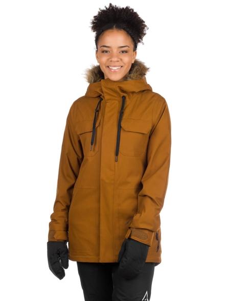 Volcom Shadow Insulator Ski jas bruin