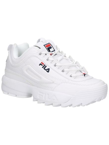 Fila Disruptor Low Sneakers wit