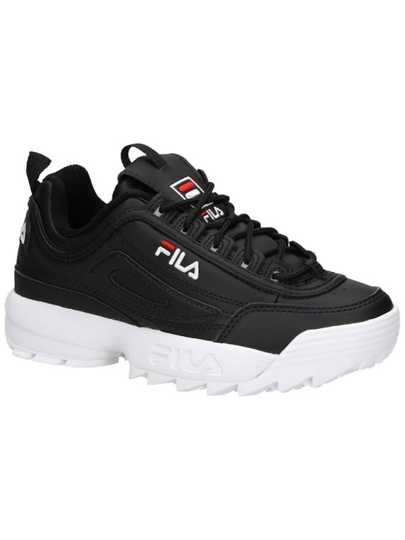 Fila Disruptor Low Sneakers zwart