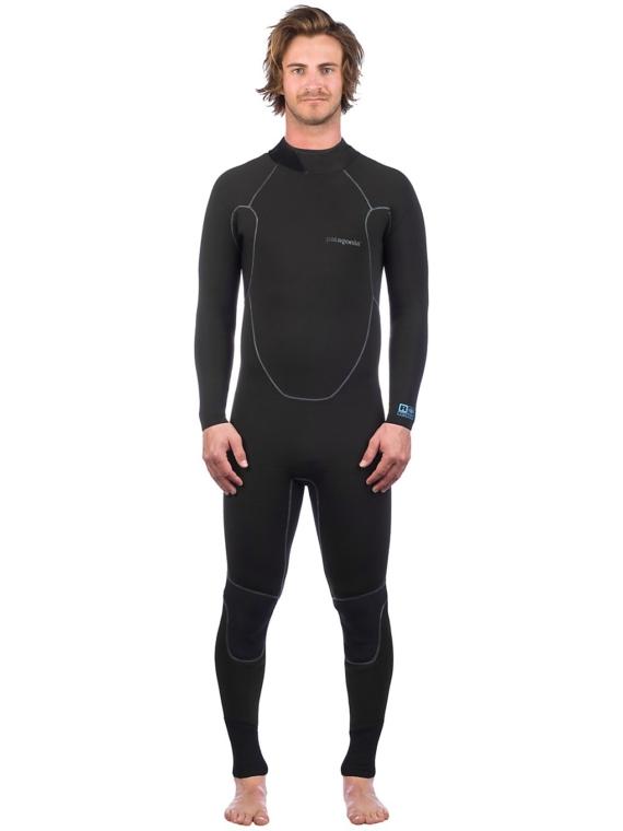 Patagonia R1 Yulex Back Zip zwart
