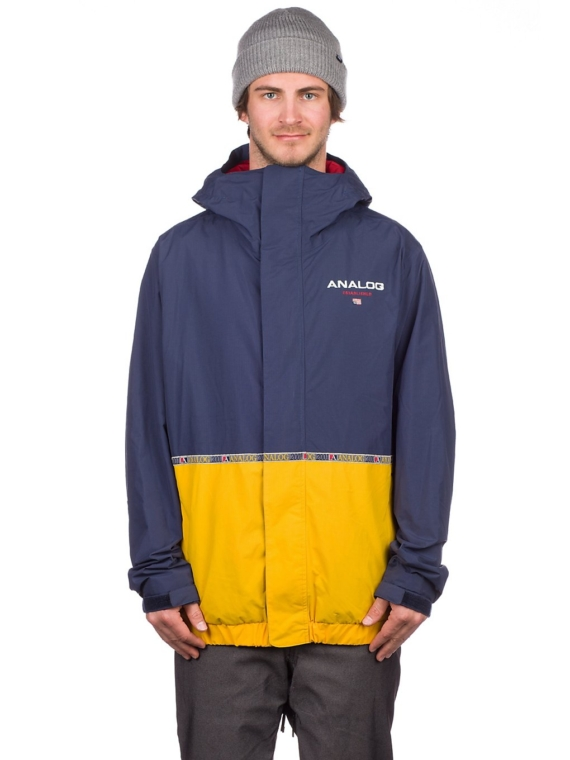 Analog Blast Ski jas blauw