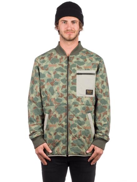 Burton Mallett Ski jas camouflage