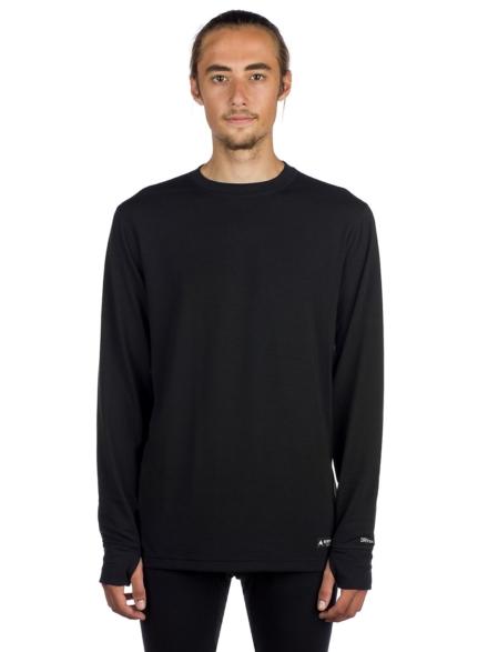 Burton Midweight Crew Tech t-shirt met lange mouwen zwart