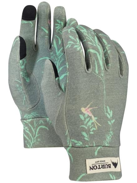 Burton Merino Wool Liner handschoenen grijs