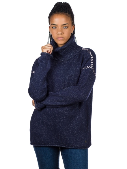 Rip Curl Leah Roll Neck Pullover blauw