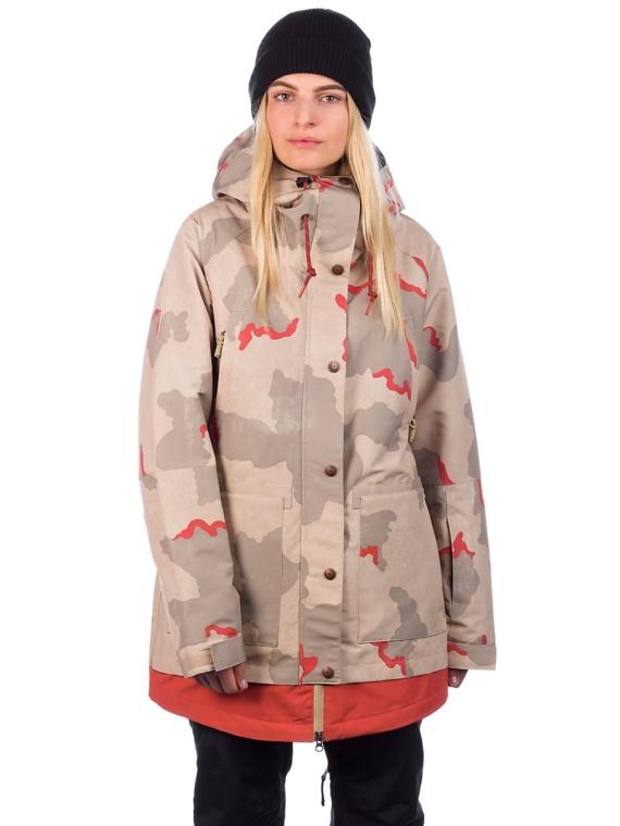 DC Riji Ski jas rood