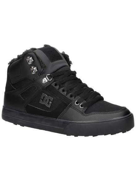 DC Pure High-Top WC WNT schoenen zwart