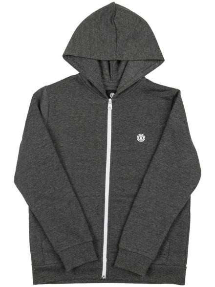 Element Cornell Classic Zip Hoodie grijs