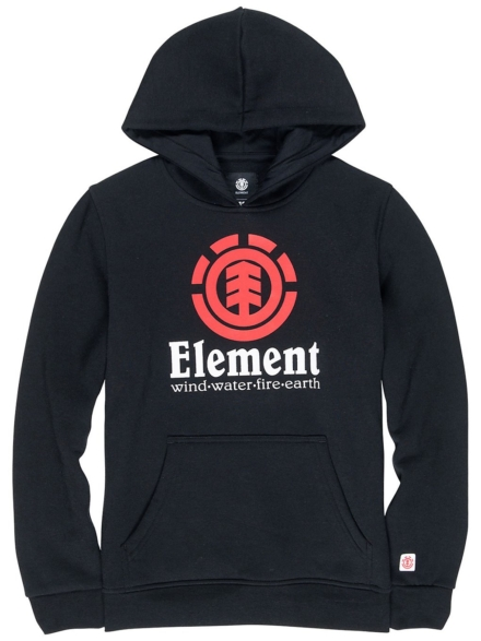 Element Vertical Hoodie zwart