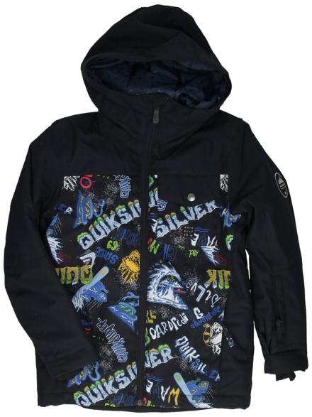 Quiksilver Mission Block Ski jas zwart