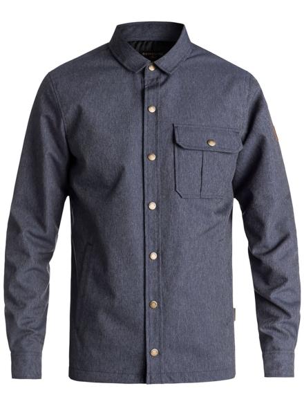 Quiksilver Wildca Denim Shirt blauw