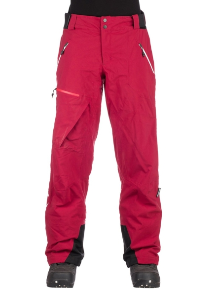 Ortovox 2L Swisswool Andermatt broek rood