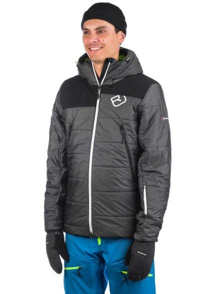 Ortovox Swisswool Verbier Ski jas zwart