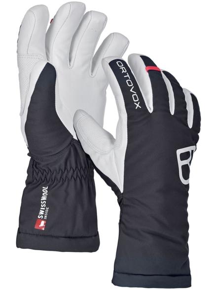 Ortovox Swisswool Freeride handschoenen zwart