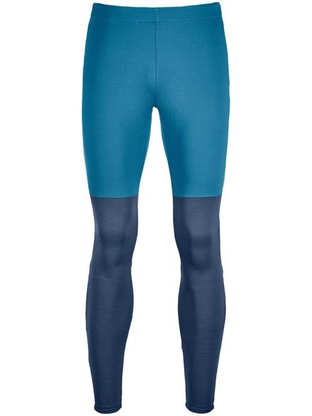 Ortovox Fleece Light Long Tech broek blauw