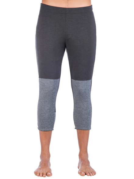 Ortovox Fleece Light Short Tech broek grijs