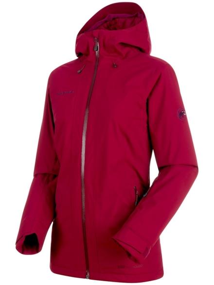 Mammut Nara Hs Thermo Hooded Ski jas rood
